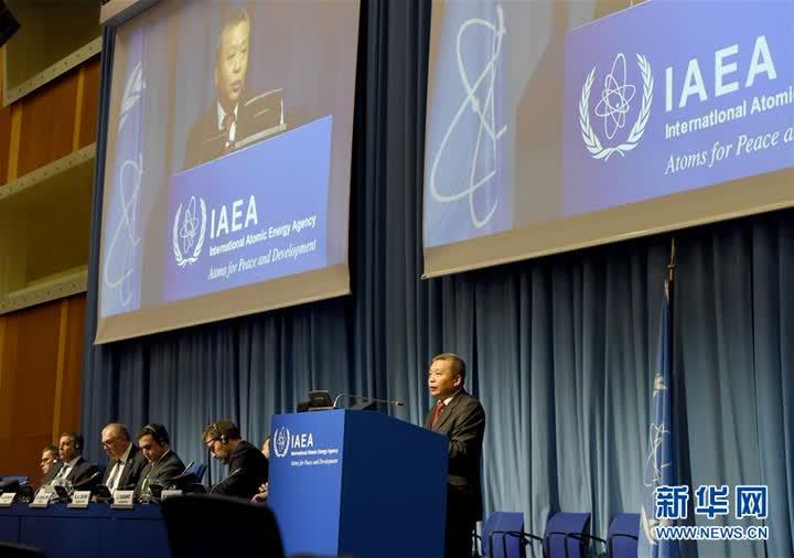 (国际·图文互动)(3)中国代表:应对气候变化,核能作用不可或缺