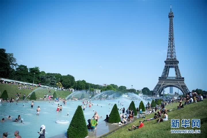 法國遭遇高溫天氣