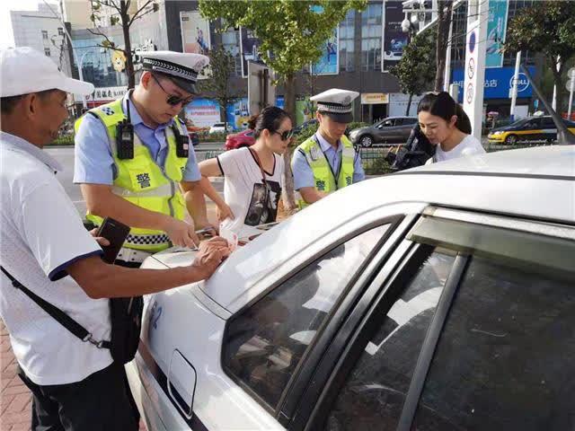 市公安局交警部门开展主城区道路交通违法违规行为专项整治
