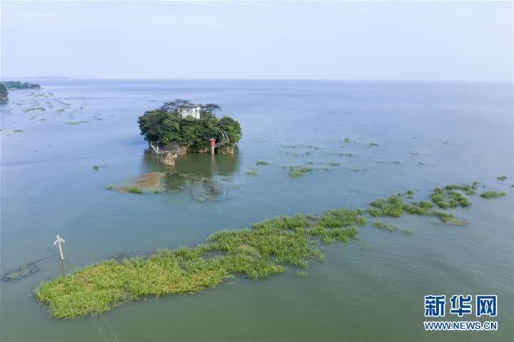 鄱陽湖水位超警戒